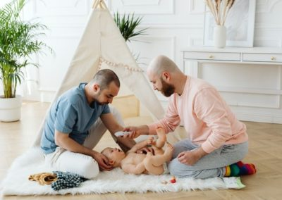 Wonderful 2-Dad Family is Seeking Outstanding Career Nanny for Infant + Baby Due 2022!